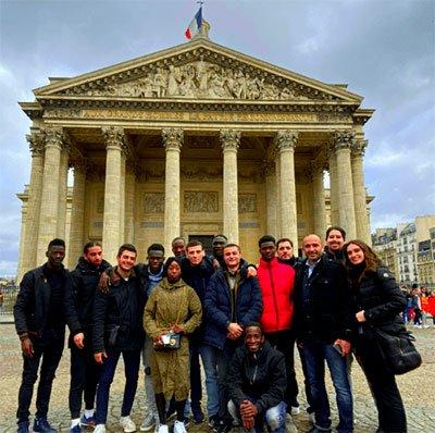 Visite de l'université de Panthéon-Sorbonne et rencontre avec son Président Georges HADDAD